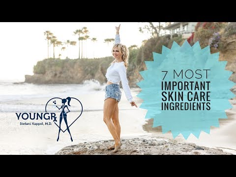 7 Most Important Ingredients in Skin Care