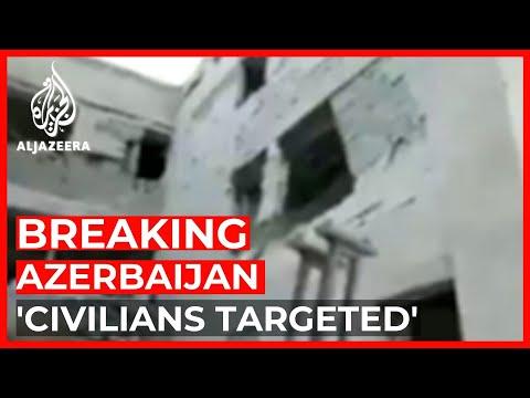 Azerbaijan accuses Armenia of killing 21 civilians in missile strike