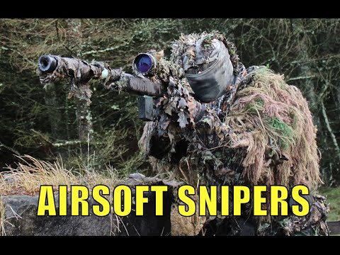 AIRSOFT SNIPER ACTION The SixMilStalkers Sniper Team