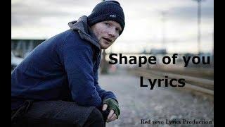 Shape of You  Lyrics Ed Sheeran RedVEVOLyrics MP4