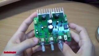 Video Кит усилителя на TDA2030    DIY Kit TDA2030 stereo amplifier Aliexpress download MP3, 3GP, MP4, WEBM, AVI, FLV November 2017