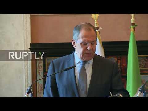 Russia: Lavrov slams US statement on N.Korea as 'bloodthirsty tirade'