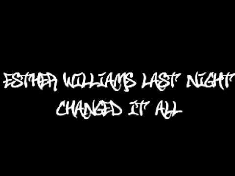 Esther Williams - Last Night Changed It All