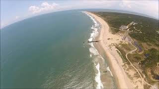 Ramona, John and Nick tour the Outer Banks by air with OBX Helicopters!