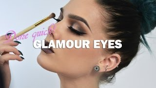 Glamorous Make Up - Linda Hallberg Make Up Tutorials Done Quick