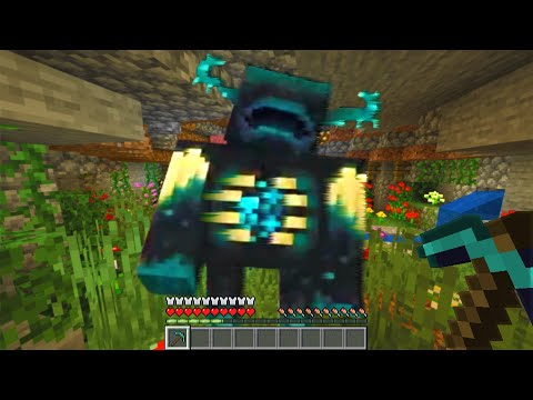 Minecraft Cave Update is extremely scary..