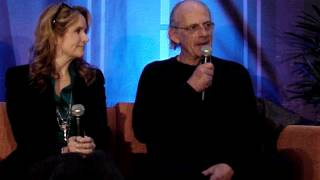 Back to the Future Panel ( Christopher Lloyd, Lea, and more ) - SciFi Expo 2013 - Dallas Comic Con