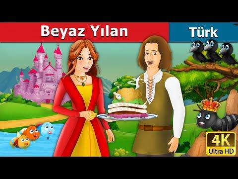 Beyaz Yılan | The White Snake Story in Turkish | Peri Masalları | Türkçe peri masallar
