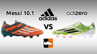 adidas mirosar10 vs. F50 adiZero IV Football Boots Comparison