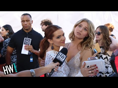 Katie Stevens & Rita Volk Talk Making Out & 'Faking It' Season 2 Details!