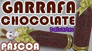 GARRAFA CHOCOLATE – Presente para Páscoa