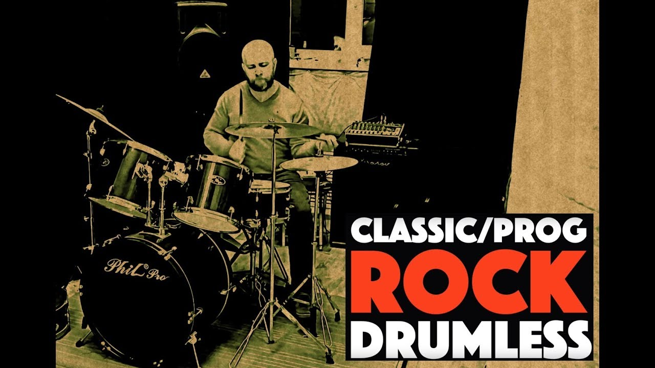 My Drum Cover on Classic/Prog Rock Drumless Backing Track