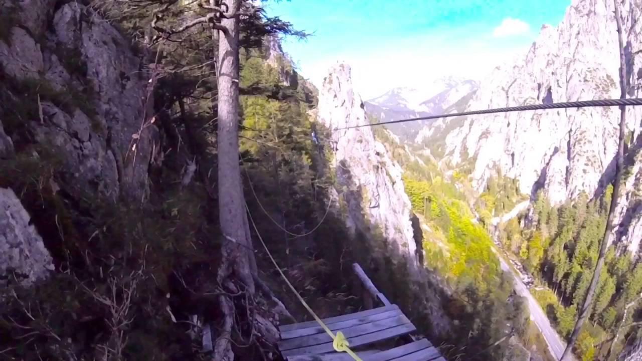 Klettersteig Johnsbach : Johnsbach klettersteig youtube