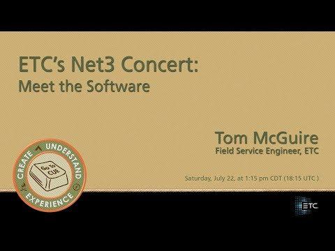CUE 2017-ETC's Net3 Concert: Meet the Software