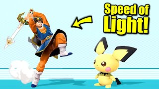 How to Send Someone Flying Near the SPEED OF LIGHT in Super Smash Bros. Ultimate