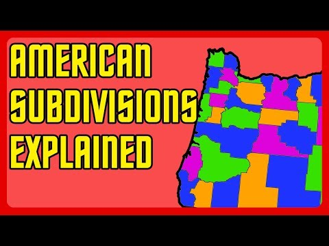 US States, Counties, and Districts Explained