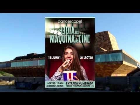 """Festival Dancescape """"Lidia i la Màquina de Cine"""" la Llotja de Lleida 2016"""