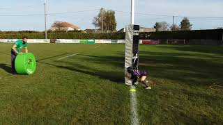 Rugby Donuts placage arrache