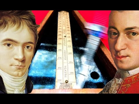 HOW FAST DID MOZART AND BEETHOVEN REALLY PLAYED ?