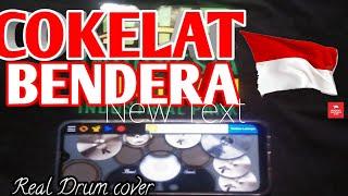 Download COKELAT - BENDERA | REAL DRUM COVER