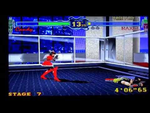 Fighting Vipers Xbox 360 Gameplay Youtube