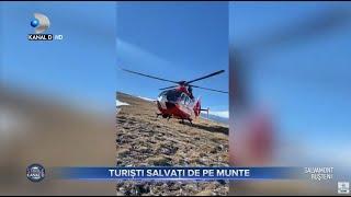 Stirile Kanal D (09.05.2021) - Turist salvat de pe munte! Cum a supravietuit? | Editie de seara