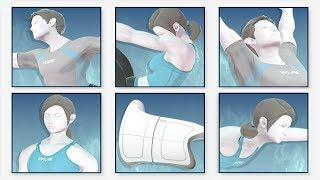 Super Smash Bros. Ultimate - All Wii Fit Spirit Battles