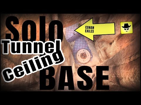 Solo Tunnel Ceiling Base | Conan Exiles