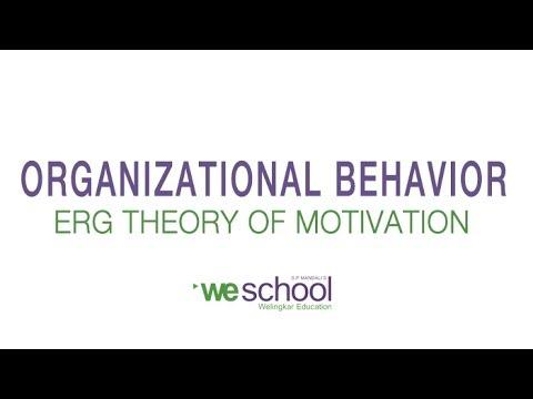 erg model of motivation