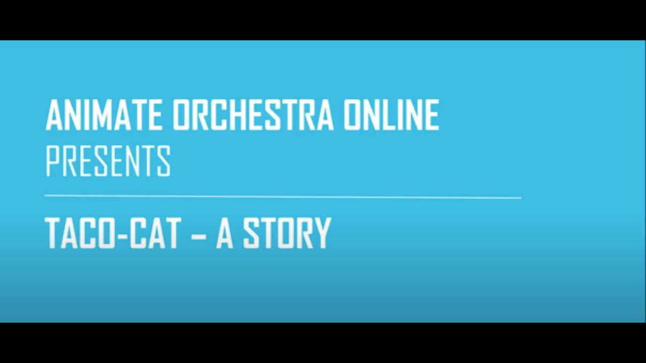 Animate Orchestra, Taco-Cat - A Story