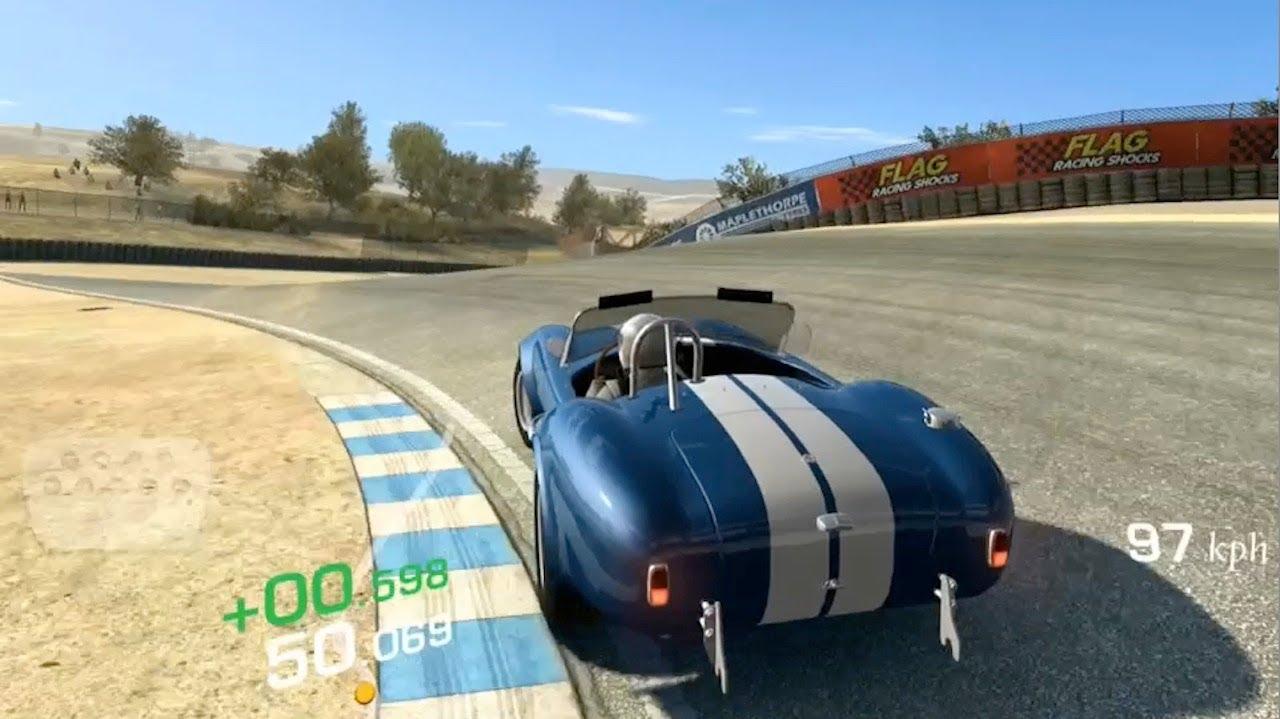 [iOS] Real Racing 3 - Weekly Time Trial Tournament 4th week Laguna Seca