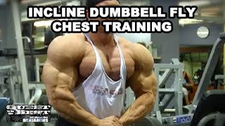 Incline Dumbell Fly Chest Training With Ben Pakulski