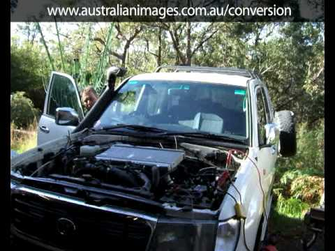 1vd Ftv V8 Turbo Diesel Test Startup In Landcruiser 100