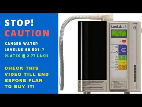 Kangen water machine sd501, STOP! CAUTION!! watch till end. you buy the kangen water machine india.