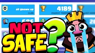 Stats Royale NOT SAFE? For Clash Royale Players