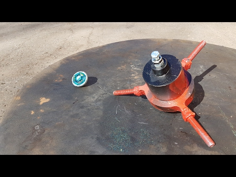 Thumbnail: Spinning Top of Death VS. Beyblade toy