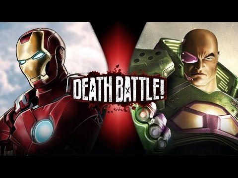 Iron Man VS Lex Luthor | DEATH BATTLE!