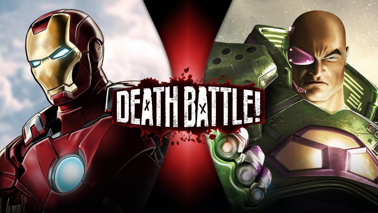 Image result for death battle iron man lex luthor