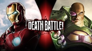 Iron Man VS Lex Luthor (Marvel VS DC) | DEATH BATTLE!
