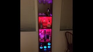 My Custom Ikea Booze Cabinet With Built-in Dance Party