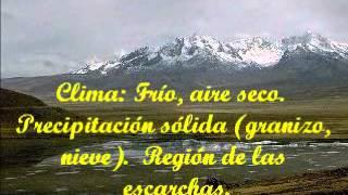 LAS 8 REGIONES DEL PERU