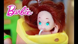Frozen Kids as Babies Toby in Barbie Disney Princess Anna Play-Doh Baby Epic Funny Parody