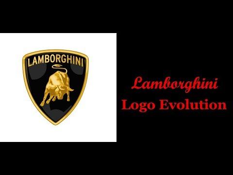 The Evolution Of Lamborghini Logo Since 1952 Youtube
