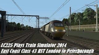 Train Simulator 2014-Class 43 HST London to Peterborough