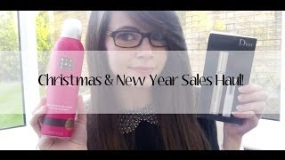 Christmas and New Year Sales Haul Thumbnail
