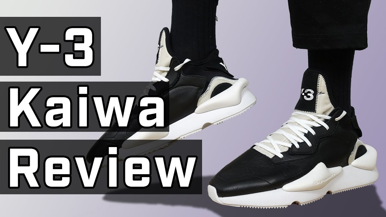245b9a5ea1e05 Best New Y-3 Sneaker  Y-3 Kaiwa Review - YouTube