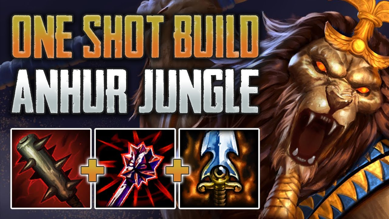FULL PENETRATION ANHUR IS DIRTY! Anhur Jungle Gameplay (SMITE Conquest)
