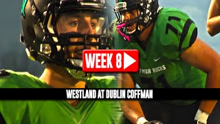 HS Football: Westland at Dublin Coffman [10/17/14]