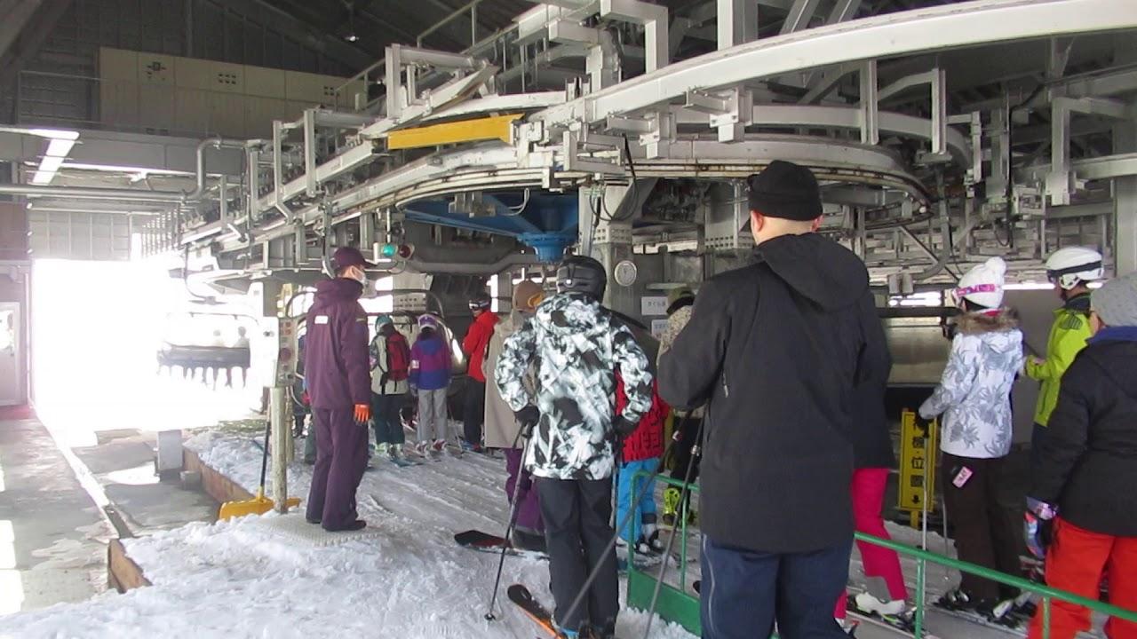 かぐらスキー場 かぐら第1高速リフト 運転再開(その3 2019-2020シーズン)