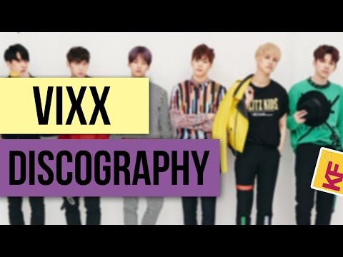 VIXX Korean Discography 2012 - 2016